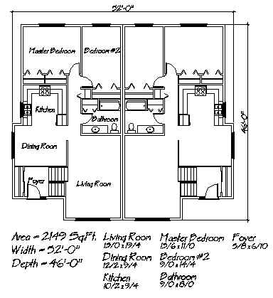 Northern home design multi family house plan the northland for Northern house plans